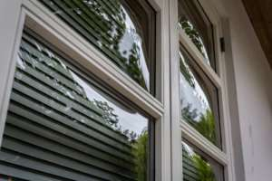 Vinyl storm windows are energy efficient.