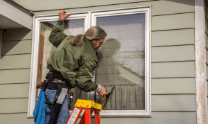 House windows need to be cleaned regularly.