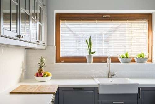Replacement windows for kitchen must offer adequate lighting and air circulation.