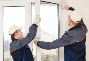 Professionals to install double pane windows