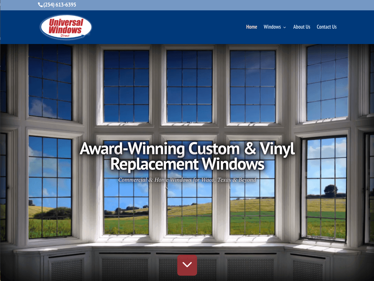 About universal windows direct of central texas for Window world waco