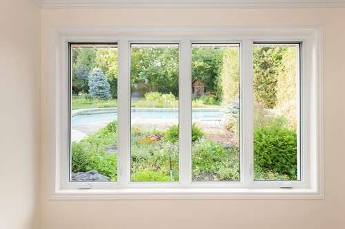 New home windows must be energy efficient.