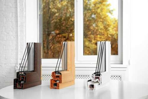 Home replacement windows are made of different materials.